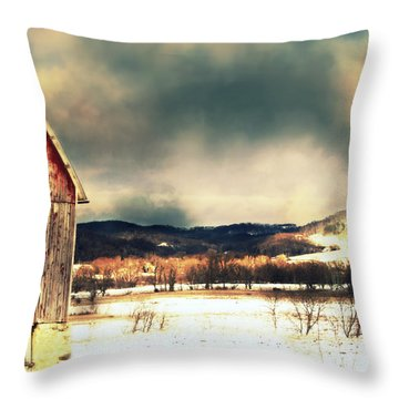 Throw Pillow featuring the photograph Over Yonder by Julie Hamilton