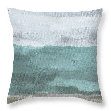 Overcast- Art By Linda Woods Throw Pillow