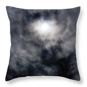 Overcast Throw Pillow