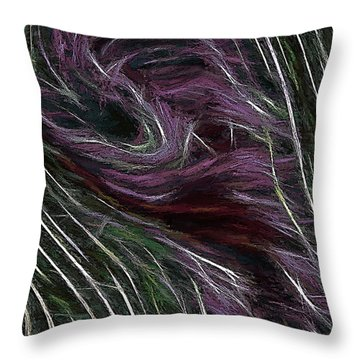 Overcoming Throw Pillow