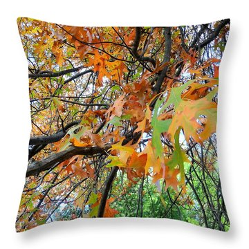 Overlapped Throw Pillow