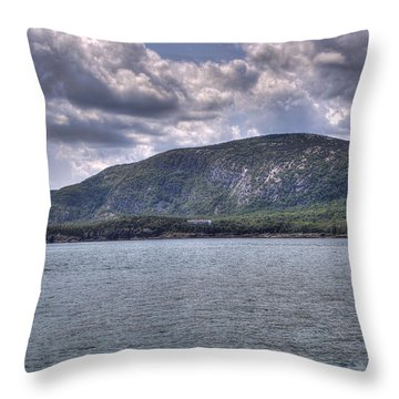 Overlook - Northern Maine Throw Pillow