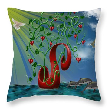 Overseas Hope Throw Pillow