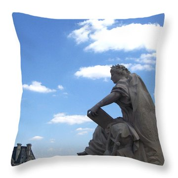Overseer Throw Pillow