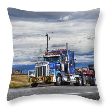 Oversize Load Throw Pillow