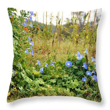 Overtaking Beauty Throw Pillow