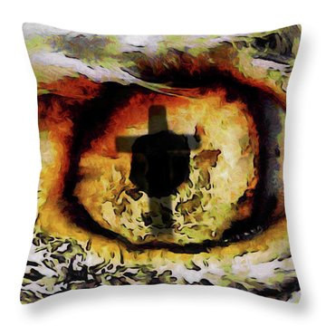 Overwhelmed Remember Him Throw Pillow by Ernie Echols