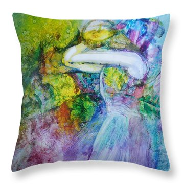 Overwhelming Love Throw Pillow