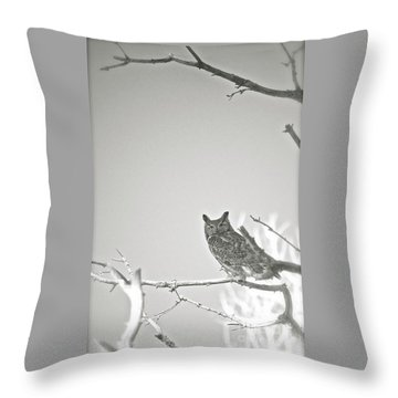 Owl Be Seeing You Throw Pillow