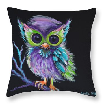Owl Be Your Friend Throw Pillow
