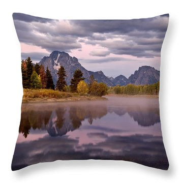 Oxbow Throw Pillow