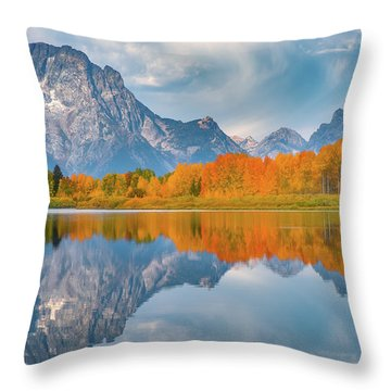 Oxbow's Autumn Throw Pillow