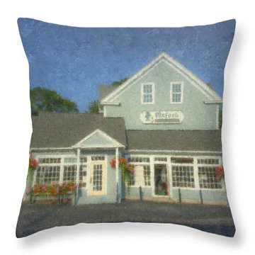 Oxford Cleaners Throw Pillow