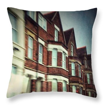 Oxford Throw Pillow by Persephone Artworks