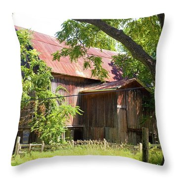 0036 - Oxford Red II Throw Pillow