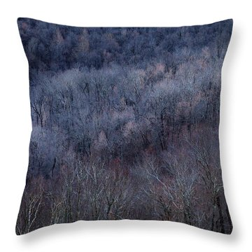 Ozark Trees #3 Throw Pillow