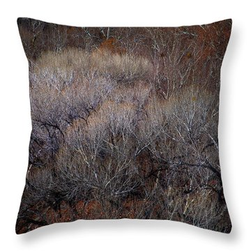 Ozarks Trees #5 Throw Pillow