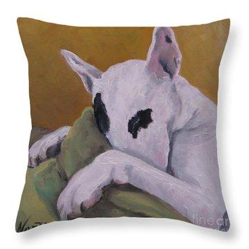 Ozzi Throw Pillow by Jindra Noewi