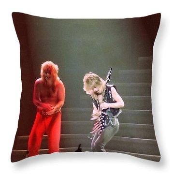 Ozzy 4 Throw Pillow
