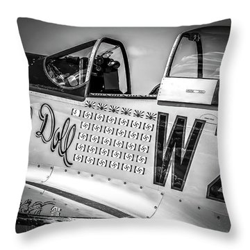 P-51 Mustang - Series 1 Throw Pillow