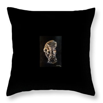 P-nut Butter Throw Pillow