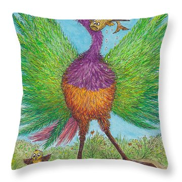 Unlucky For Some..... Throw Pillow by Charles Cater