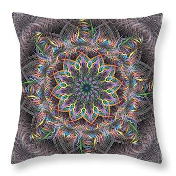 Perpetual Motion Throw Pillow