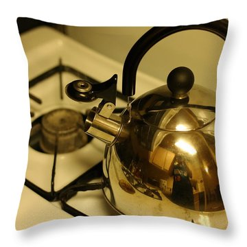 Pa Kettle Throw Pillow