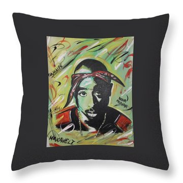 Pac Mentality Throw Pillow