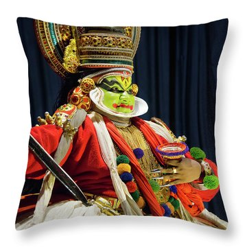 Throw Pillow featuring the photograph Pacha Vesham by Marion Galt