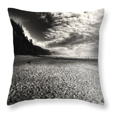 Pacific Coast Highway Oregon Throw Pillow