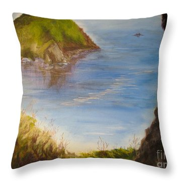 Pacific Cove Throw Pillow