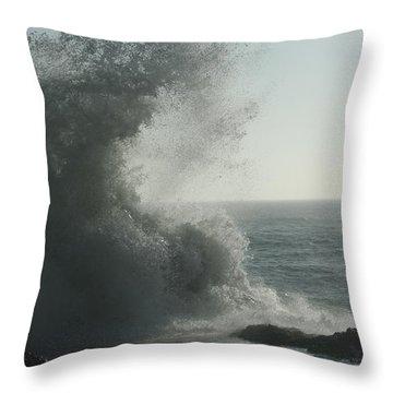Pacific Crash Throw Pillow