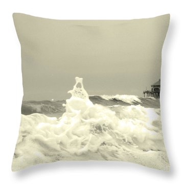 Pacific Love Throw Pillow by Suzette Kallen