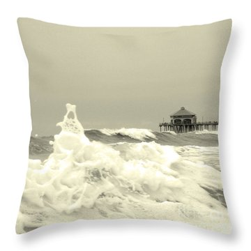 Pacific Love Throw Pillow