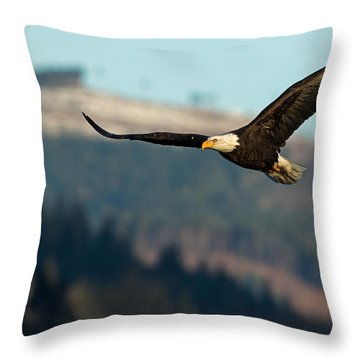 Pacific Nw Flight Throw Pillow