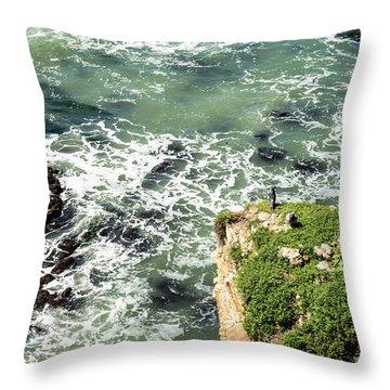 Pacific Overlook Throw Pillow