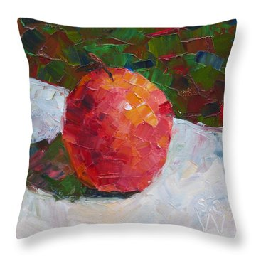 Pacific Rose Bold Throw Pillow