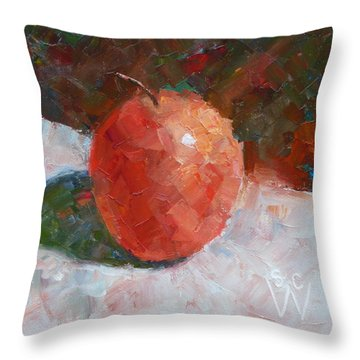 Pacific Rose Gentle Throw Pillow