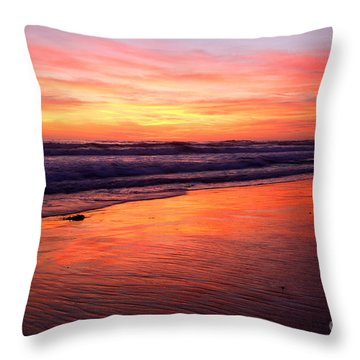 Cardiff Coast  Throw Pillow