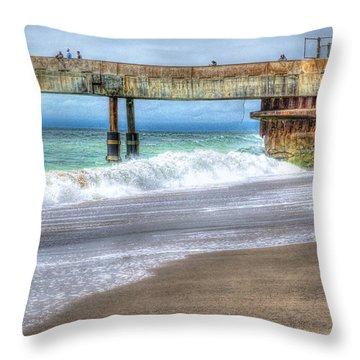 Pacifica Pier  Throw Pillow
