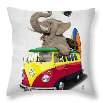Rasta Throw Pillows