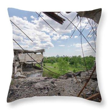 Packard 1 Throw Pillow