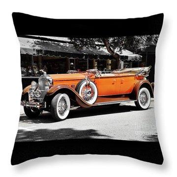 Packard Elegance Throw Pillow