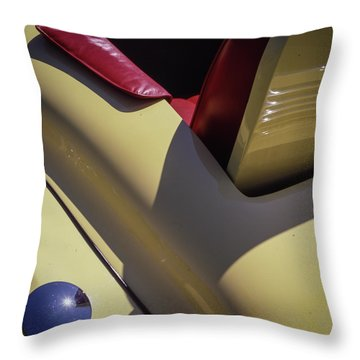 Packard Rumble Seat Throw Pillow