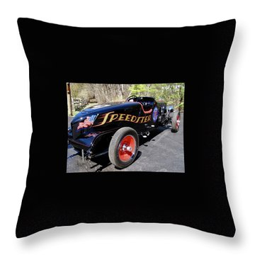 Packard Speedster  Throw Pillow