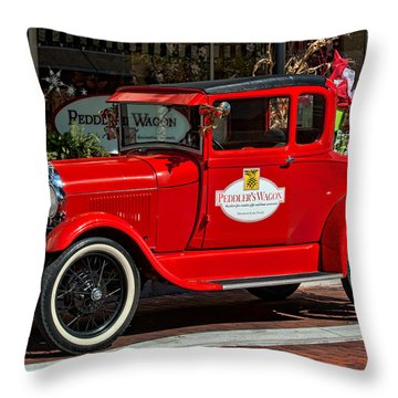Packed For Christmas Throw Pillow by Christopher Holmes