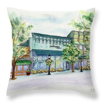 Paddington On Main Throw Pillow