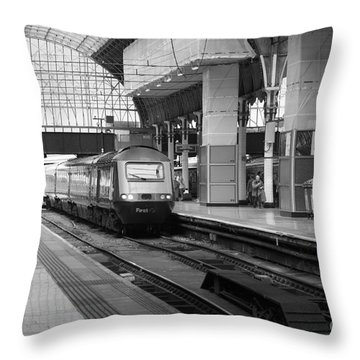 Paddington Station London Throw Pillow