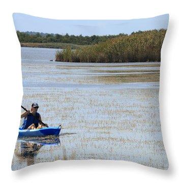 Paddle Away Throw Pillow